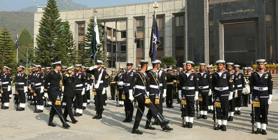 """Image result for Commander Navy Islamic Republic of Iran Visits Naval Headquarters, Islamabad"""""""