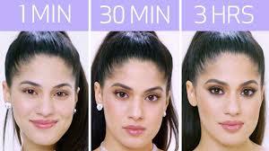 ariana grande s look in 1 minute