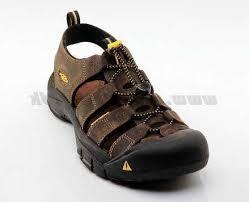 men sandals keen newport brun