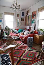 boho chic layered rugs archives