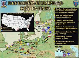 Defender-Europe 20 - US Army presents concrete plans