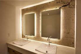 backlit mirror in your bathroom