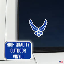 United States Air Force Logo Place Anywhere Decals Decalcomania