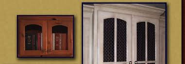 cabinet door inserts sned gl