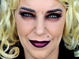 tutorial maquillaje novia de chucky