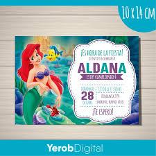 Yerob Digital Tarjetas Invitaciones Cumpleanos Digital La