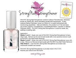 707 pritinyc strong nail strengthener