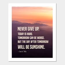 never give up inspirational motivational quotes never give up