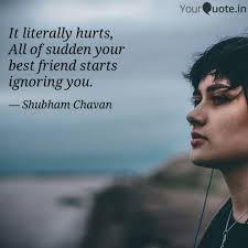 it literally hurts all o quotes writings by shubham chavan