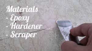 fill in gaps between marble floor tiles