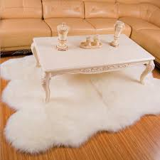 large sheepskin rug white fur carpet