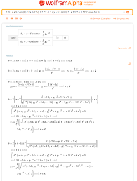 solve equation of motion when gravity