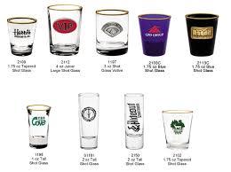 custom shot glasses custom imprint