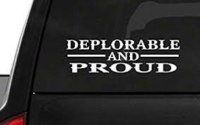 Amazon Com Deplorable And Proud M56 Usa Vinyl Sticker Car American Window Decal Automotive
