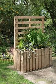 Pallet Fence Ideas Backyards Herbs Garden Pallet Patio Privacy Pallet Patio Privacy Pallets Furniture Design