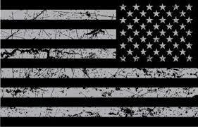 Usa Flag Grey Distressed Sticker Decal Guns And Hoses Gear Llc