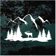 Mountain Car Decals Stickers Decal Junky