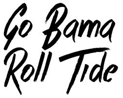Ncaa0071 Alabama Crimson Bama Roll Tide Die Cut Vinyl Graphic Decal Sticker Ncaa