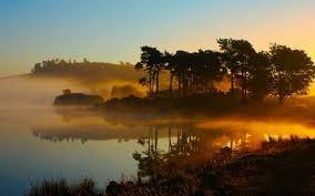 scenic lake landscape wallpaper hd