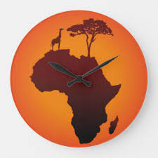 African Continent Art Wall Decor Zazzle