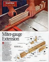 102 Miter Gauge Fence Plans Table Saw Tips Jigs And Fixtures Fence Planning Woodworking Table Saw Woodworking Jigs