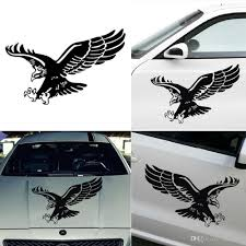 2020 Fashion Reflective Eagle Decal Vinyl Car Stickers Auto Door Hood Cover Sticker Car Styling Wholesale N3gv From Mius 1 8 Dhgate Com