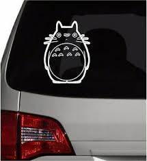 Vinyl Decal Sticker Car Window Wall My Neighbor Totoro Totoro 6 X 4 5 Ebay