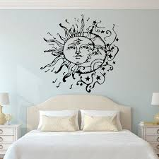 Pin By Hannah Kirkpatrick On Star Moon Cottage Wall Decals For Bedroom Wall Stickers Bedroom Moon Wall Decal