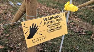 Installing An Electric Fence To Keep Deer Or Rabbits Out Of A Garden Youtube