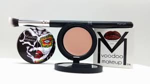 highlight conceal brush voodoo makeup
