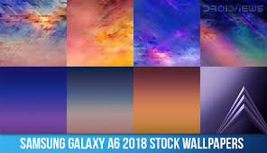 samsung galaxy a6 2018 stock wallpapers
