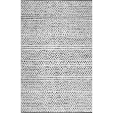 nuloom natosha chevron silver 10 x 14