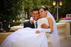 wedding dress tux al in las vegas