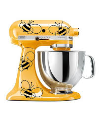 Dwdesign8 Black Vinyl Bumblebee Kitchenaid Mixer Decal Set Of Nine Best Price And Reviews Zulily