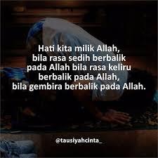 hati kita milik allah follow hijrahcinta ift tt fzsn
