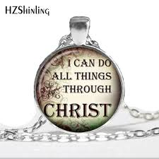 christian quotes pendant christian jewelry quote necklace glass