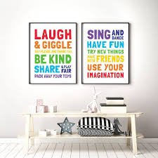 Playroom Rules Printable Art Set Of 2 Kids Room Decor Playroom Decor Children Educational Posters Toy Room Wall Art Instant Download Toy Room Wall Playroom Rules Art Wall Kids