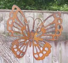 decorative rustic erfly garden