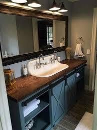 barn door bathroom vanity free