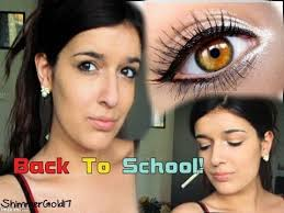 makeup tutorial for first day of high