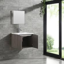 ceramic basin sink mirror combo