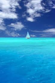 wonderful blue ocean iphone 5 wallpaper