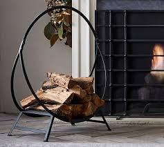 cau bronze fireplace log holder