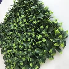 China Artificial Boxwood Leaf Plant Covering Fake Ivy Fence Green Wall Vertical Garden Photos Pictures Made In China Com