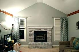 brick fireplace decor ten2training org