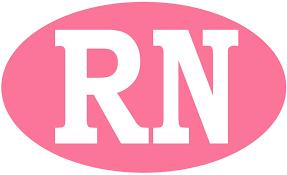 Amazon Com Rogue River Tactical Rn Nurse Pink Sticker Bumper Sticker Oval 5 X 3 Car Decal Nursing Gift Registered Nurse 1 Automotive