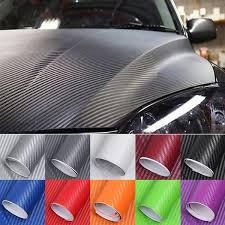 5d Carbon Fiber Vinyl Motorcycle Car Wrap Sheet Roll Film Car Stickers 30 152cm 50 152cm 60 152cm With Air Guide Wish