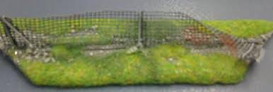 Elso Elso 15mm Finished Terrain Chain Link Fence Esl015035