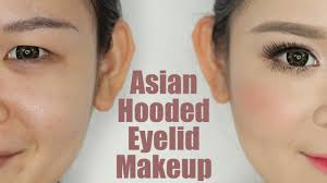 asian hooded eyelids makeup you
