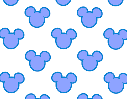 mickey mouse head silhouette wallpaper
